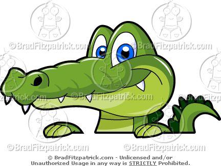 Alligator Clipart Pack.