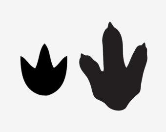 penguin footprint clipart #10