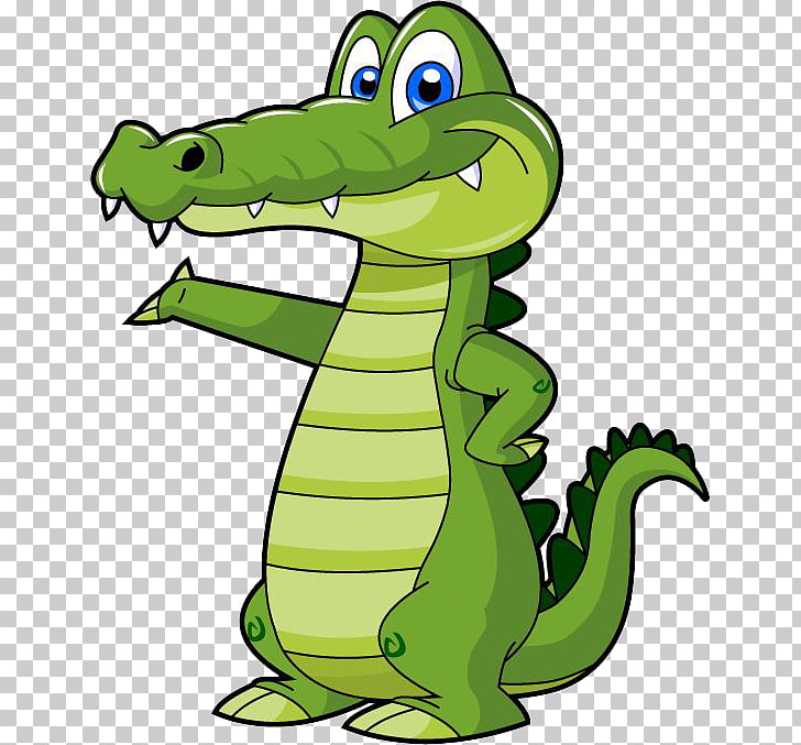 Alligators Crocodile Cartoon , crocodile PNG clipart.