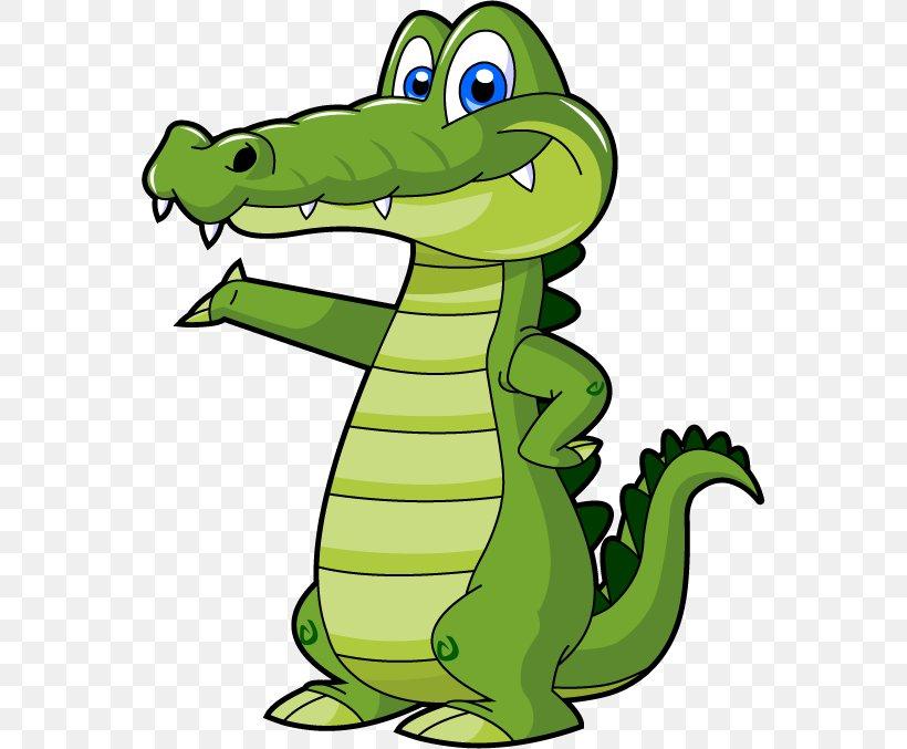 Alligator Crocodile Cartoon Clip Art, PNG, 564x677px.