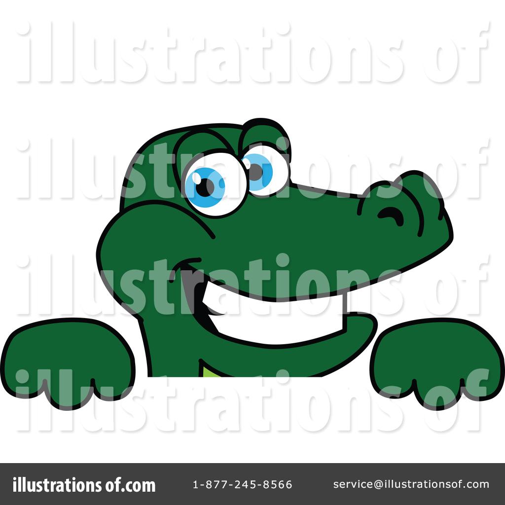 Gator Mascot Clipart #1439961.