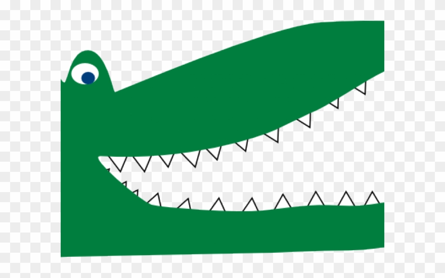 Crocodile clipart crocodile tooth, Crocodile crocodile tooth.