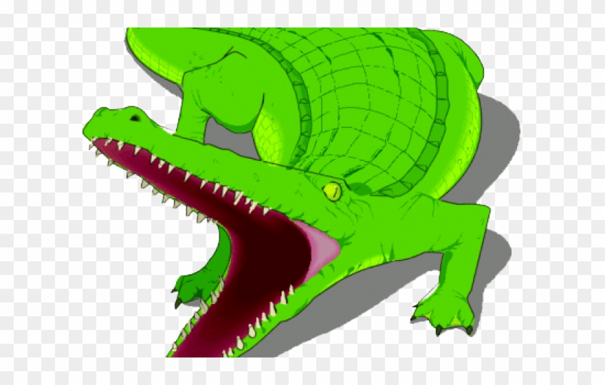 Alligator Clipart Crocodile Mouth.