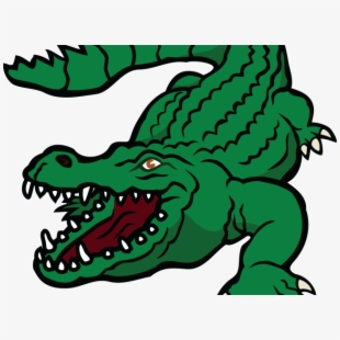 Crocodile Clipart Fierce.