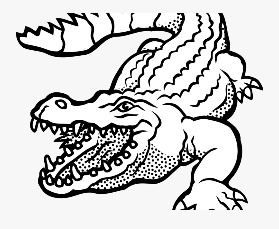 Alligator Clipart Images Black And White Free Download.