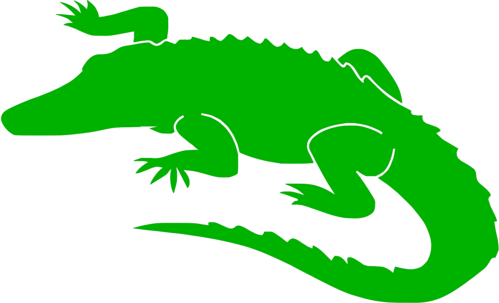 Alligators Crocodile Clip art Scalable Vector Graphics Silhouette.