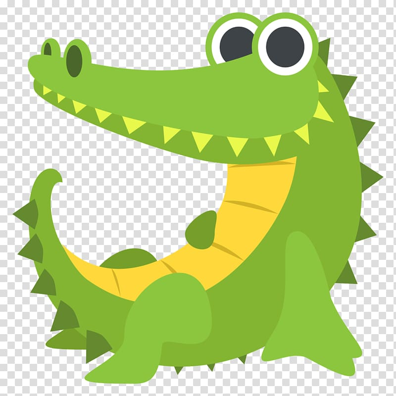 Crocodiles Alligator Nile crocodile Emoji, crocodile.