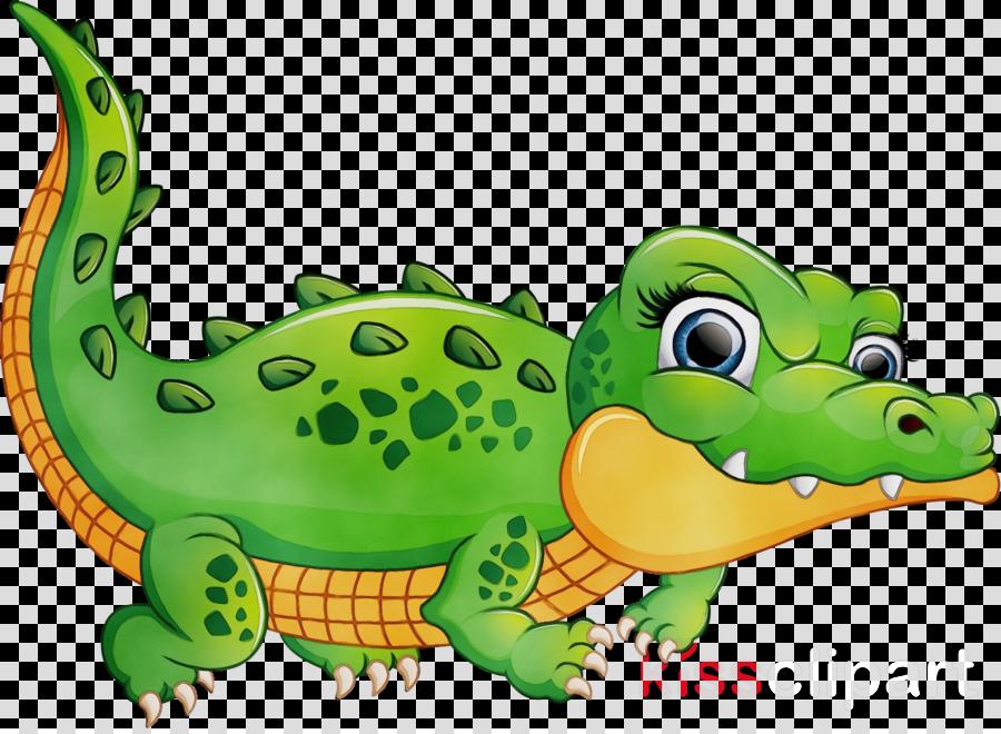 crocodile crocodilia green reptile alligator clipart.