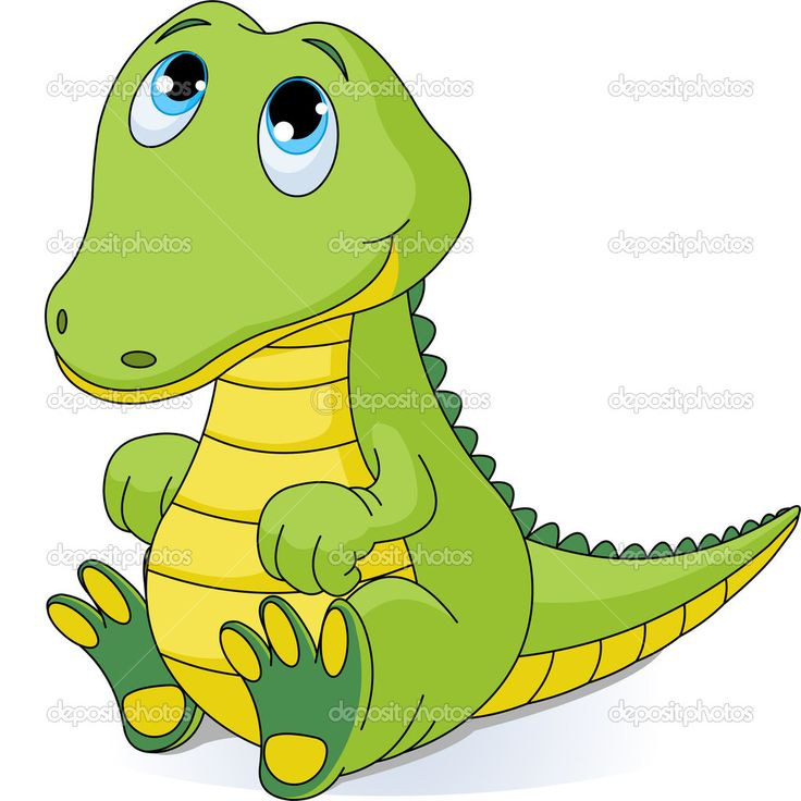 Alligators clipart.