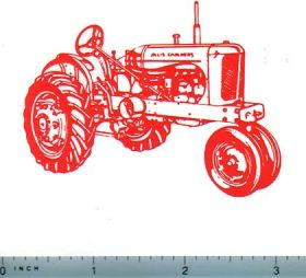 Allis Chalmers Decals.