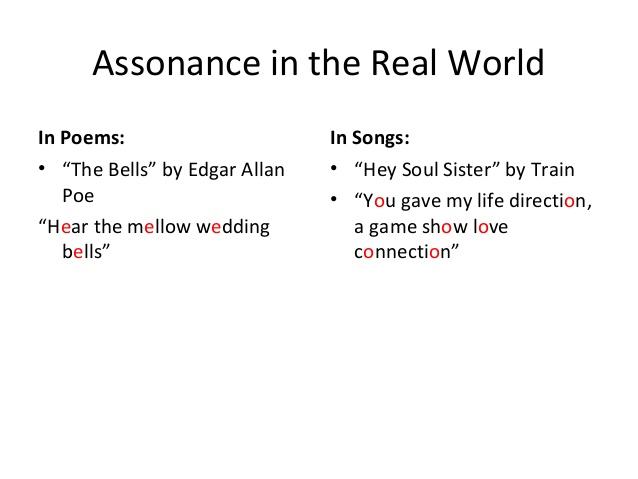 Alliteration & assonance.