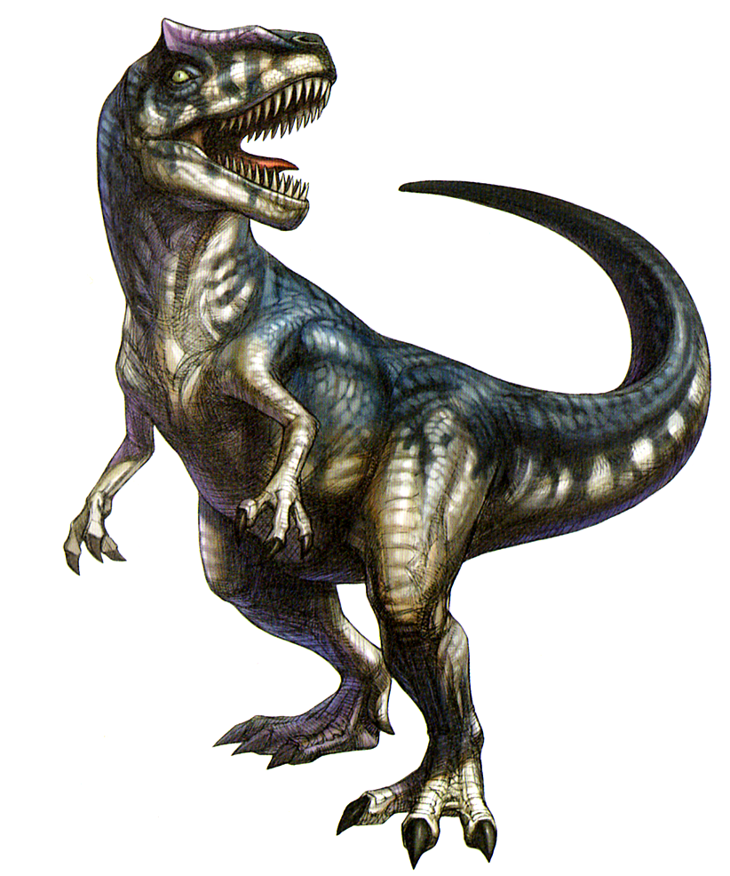 Allosaurus png 3 » PNG Image.
