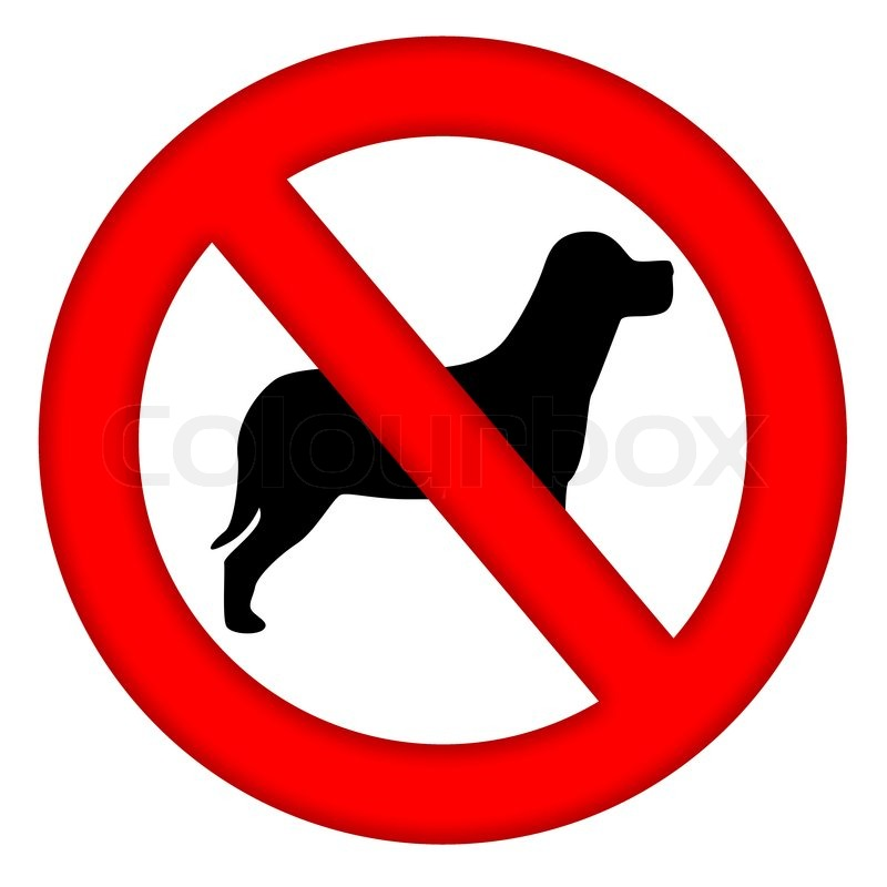 Not Allowed Symbol Clipart.