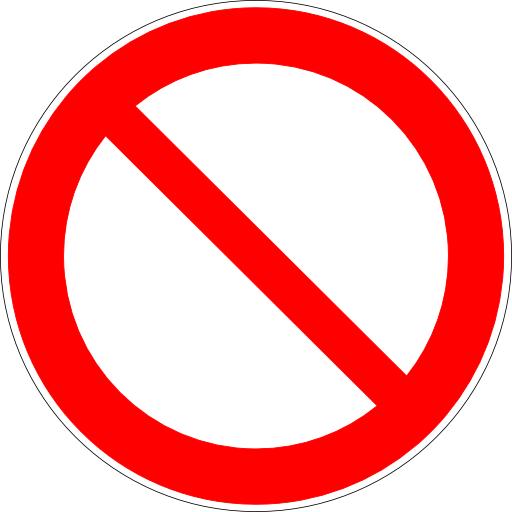Clip Art Of Camera Not Allowed Clipart.