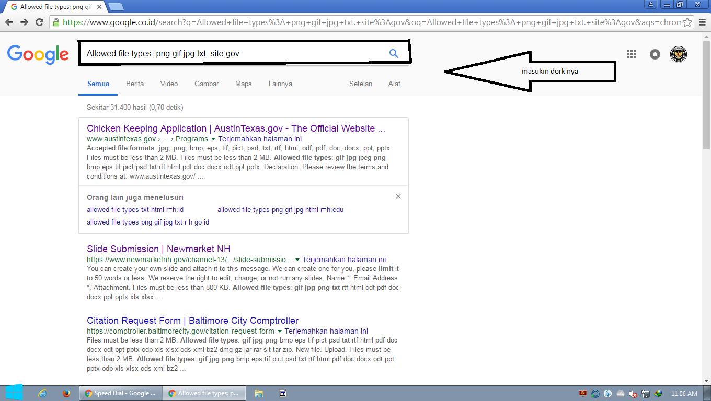 Tutorial Deface Website Pemerintah.
