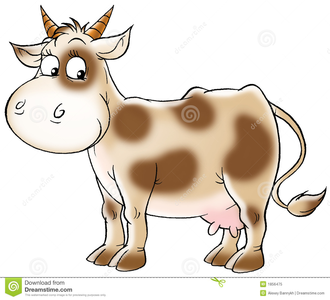 Add New Clip Art Allows You Can Use This Animated Cow Clip Art.