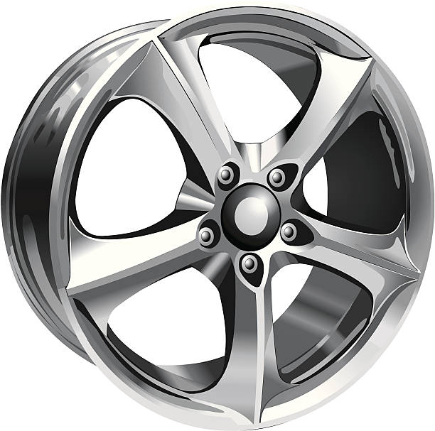 Alloy Wheel Clip Art, Vector Images & Illustrations.