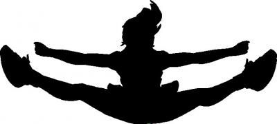 Free download Cheer Toe Touch Clipart for your creation..