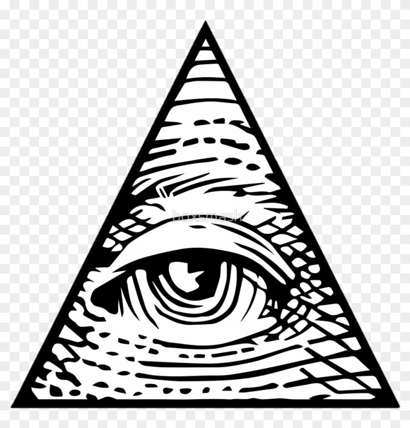 Illuminati Eye Transparent Background.