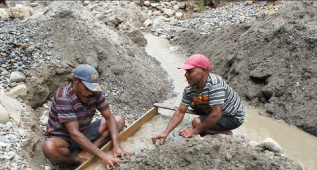 MRA to aid alluvial miners in PNG.