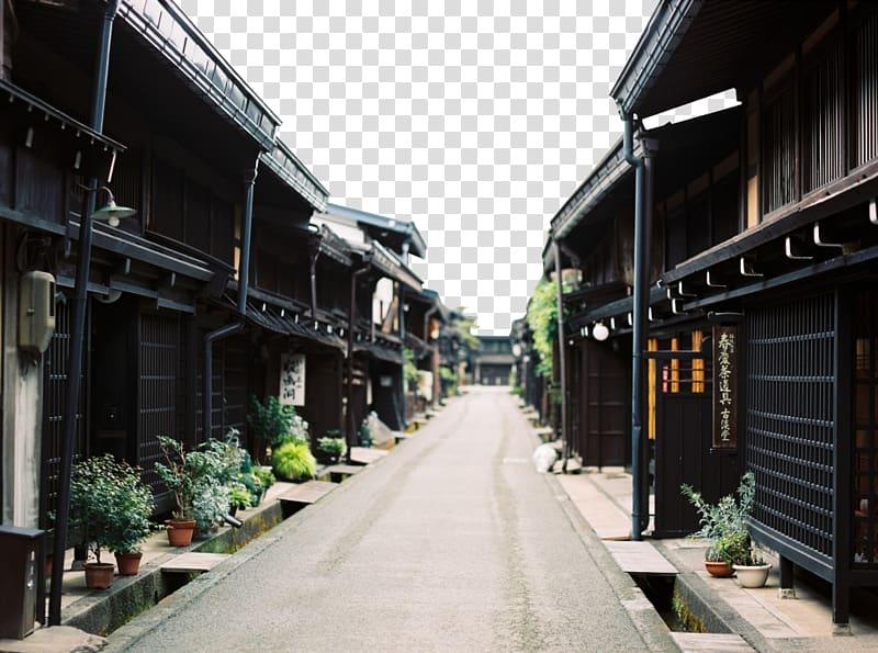 Kyoto Tsukuba Tokyo grapher, Quiet old town transparent.