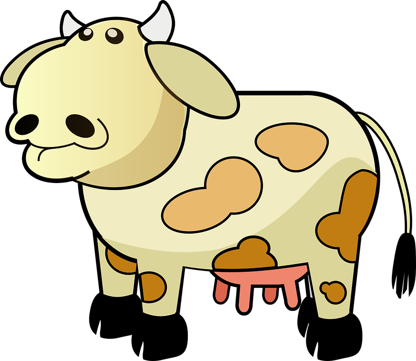 Free vector graphic: Cow, Dairy, Farm, Udders, Cattle.