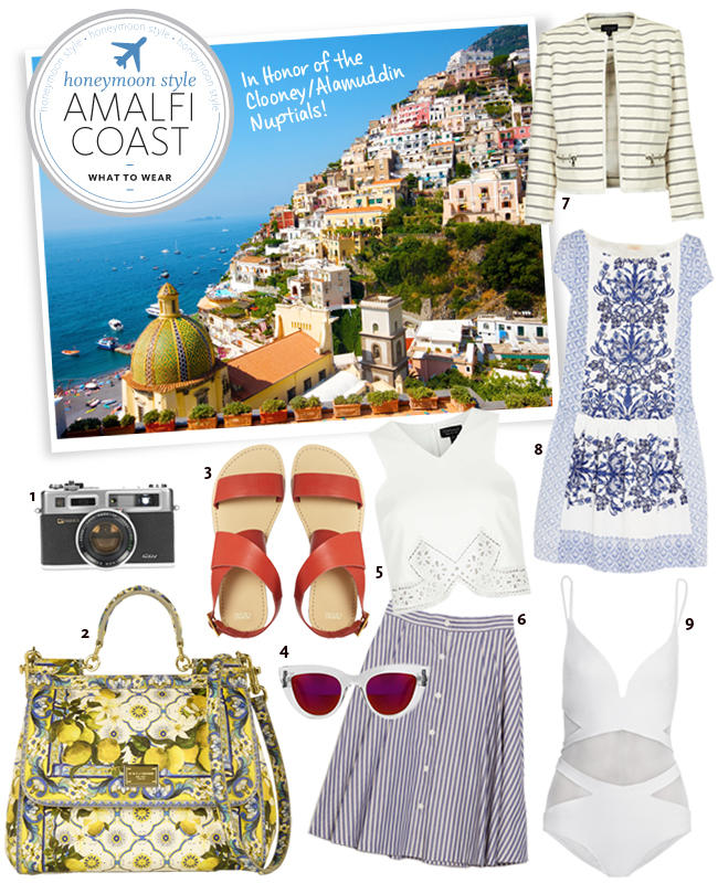 Honeymoon Packing Essentials for the Amalfi Coast.