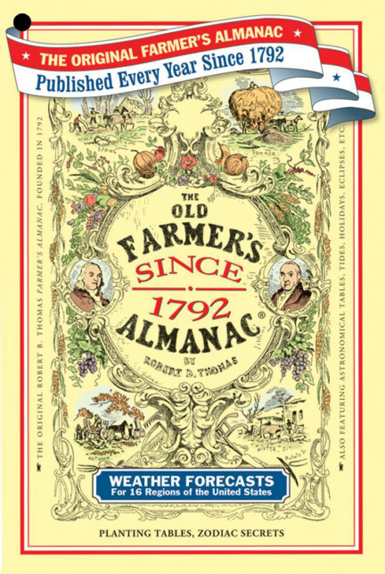 About The Old Farmer's Almanac: History and Editors.