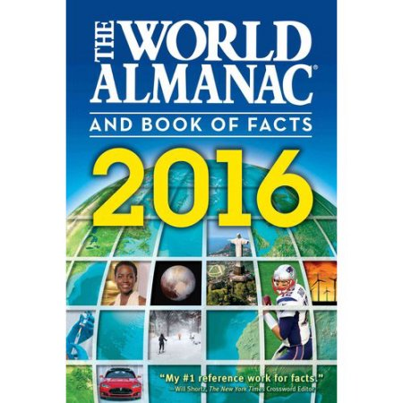The World Almanac and Book of Facts 2016.