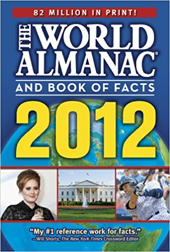 The World Almanac and Book of Facts 2012 (World Almanac & Book of.