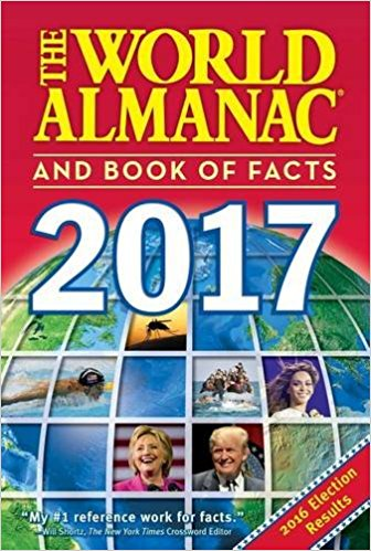 The World Almanac and Book of Facts 2017: Sarah Janssen.
