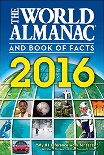 The World Almanac and Book of Facts 2016: 9781600572012: Reference.