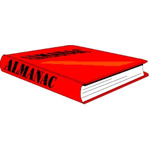 Almanac clipart, cliparts of Almanac free download (wmf, eps, emf.