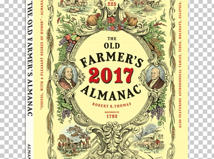 The Old Farmer's Almanac 2018 The Old Farmer's Almanac 2019 PNG.