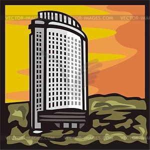 Almaty. Hotel Kazakhstan..
