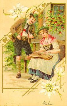 Almenrausch und Edelweiss.