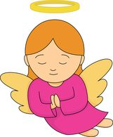 Angel picture clipart #9