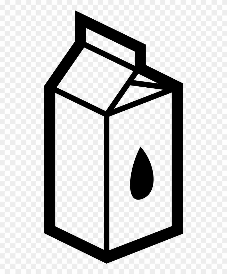 Milk Clipart White Box.