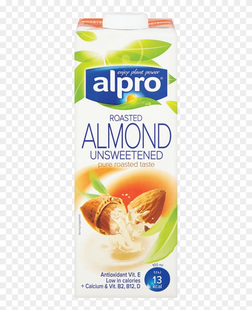Alpro Unsweetened Almond Milk Asda, HD Png Download.