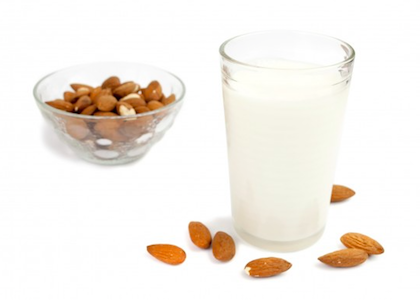 Almond milk PNG Images.