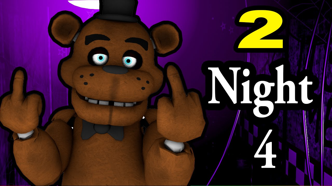NIGHT 4! Five Nights At Freddy's 2! ALMOST THERE!!.