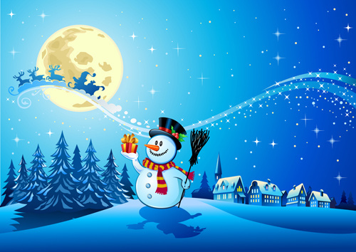 Free clipart christmas night sky free vector download (11,785 Free.