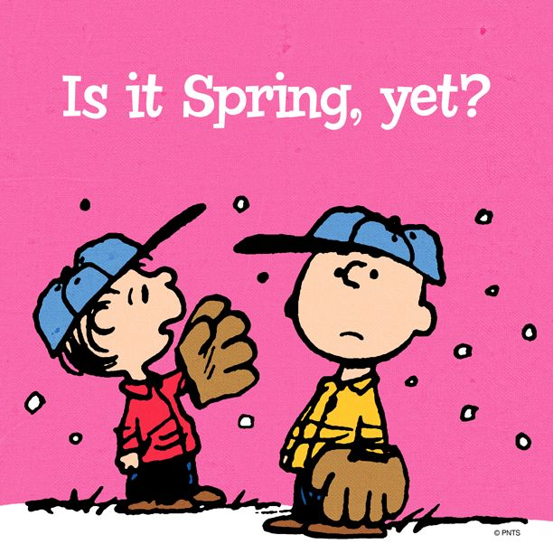 Happy Easter/Waiting for Spring to stay!.