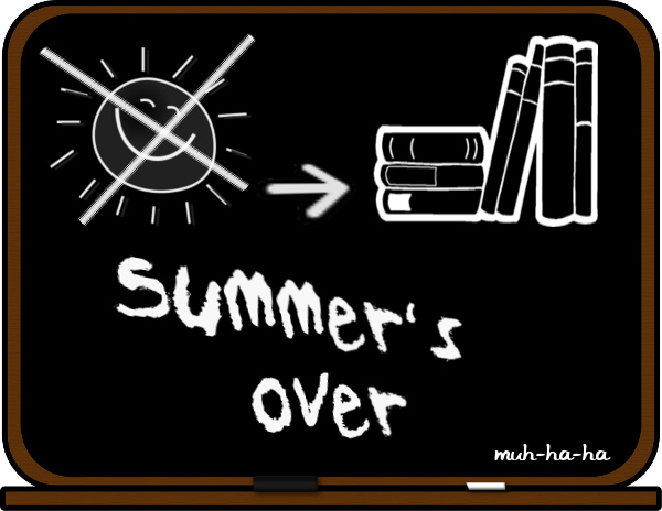 Summer Is Almost Over Clipart.
