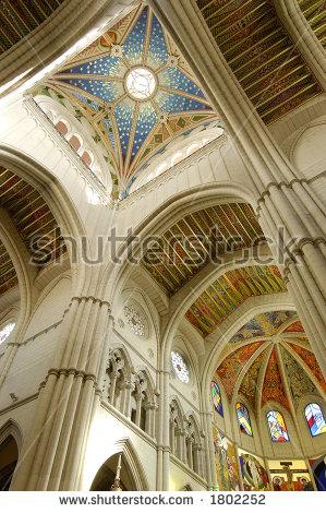 Catedral De La Almudena Stock Photos, Royalty.