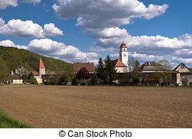 Stock Foto von dollnstein, altmuehltal, deutschland.