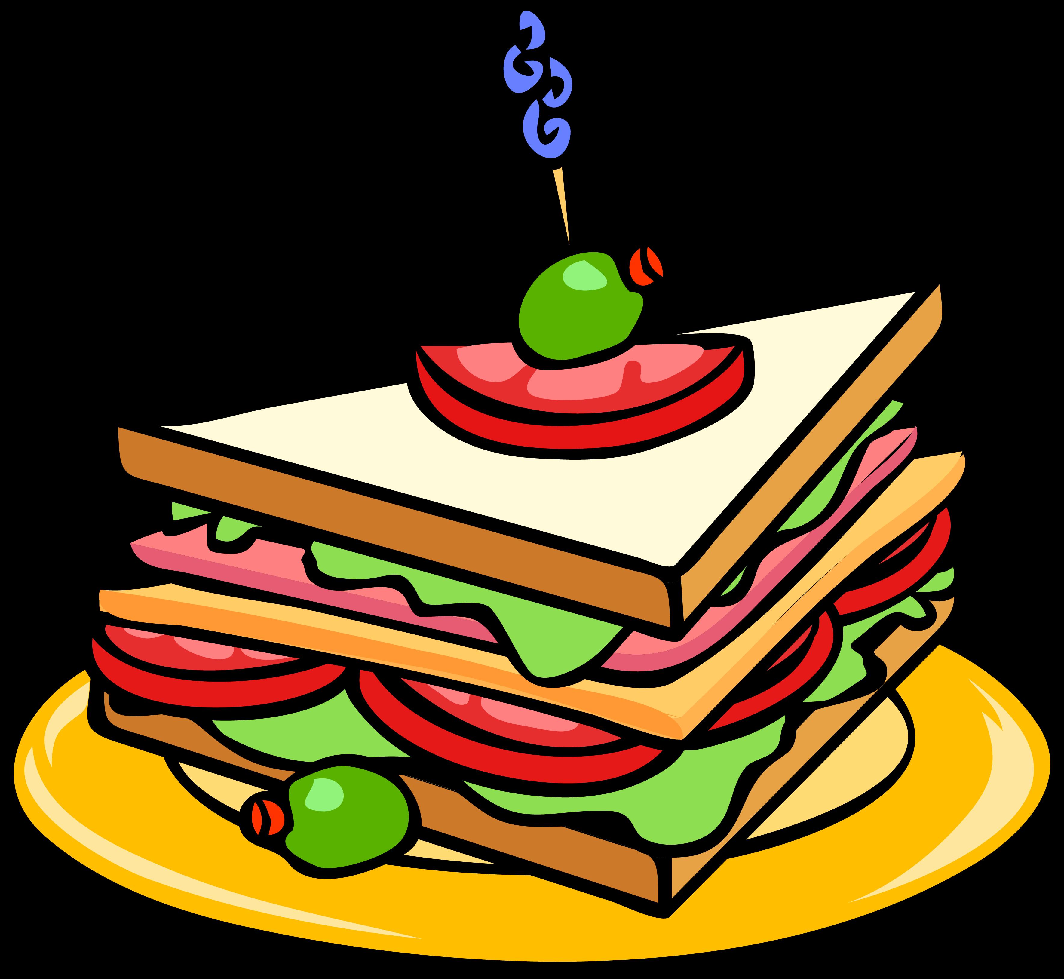 Sandwich clipart almuerzo, Sandwich almuerzo Transparent FREE for.