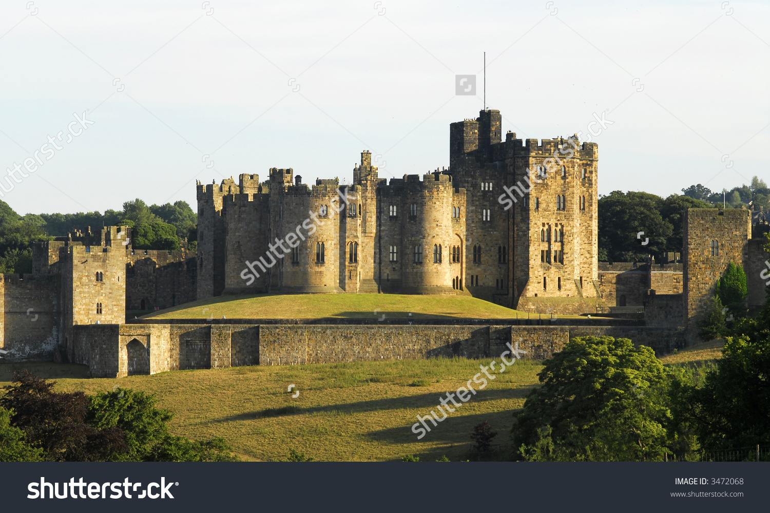 Alnwick Castle, England'S Second Largest Inhabited Castle. Home Of.
