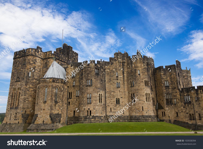 Alnwick Castle, Northumberland.