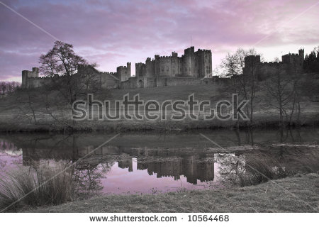 Harry Potter Castle Stock Photos, Royalty.